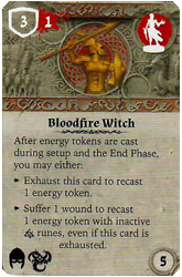Bloodfire Witch