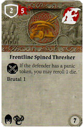Frontline Spined Thresher