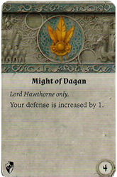 Might of Daqan