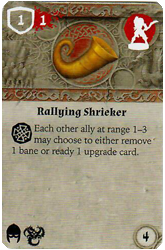 Rallying Shrieker