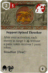 Support Spined Thresher