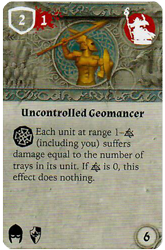 Uncontrolled Geomancer