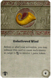 Unhallowed Wind